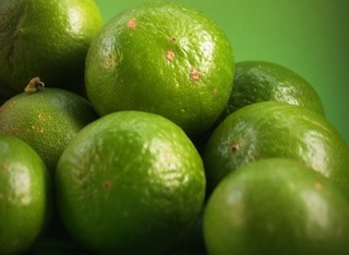Pile of deep green limes, essential oils, scent, aromatic compound, aroma, fragrance, flavor