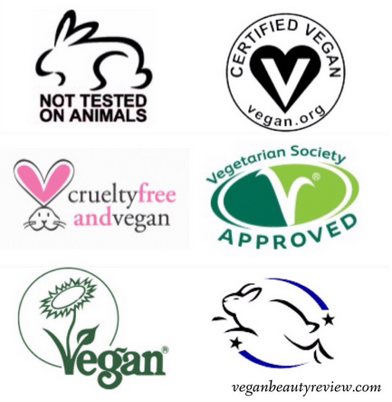 vegan symbols used on vegan labels