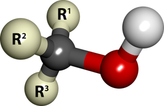 Alcohol ball and stick image