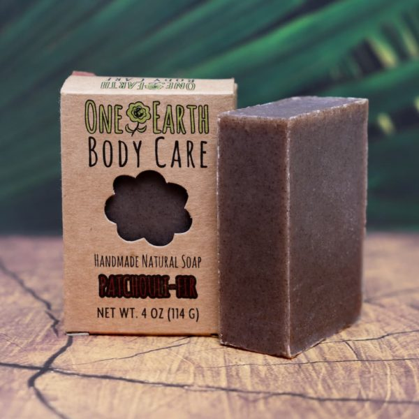 Patchouli-Fir Handmade Soap From One Earth Body Care