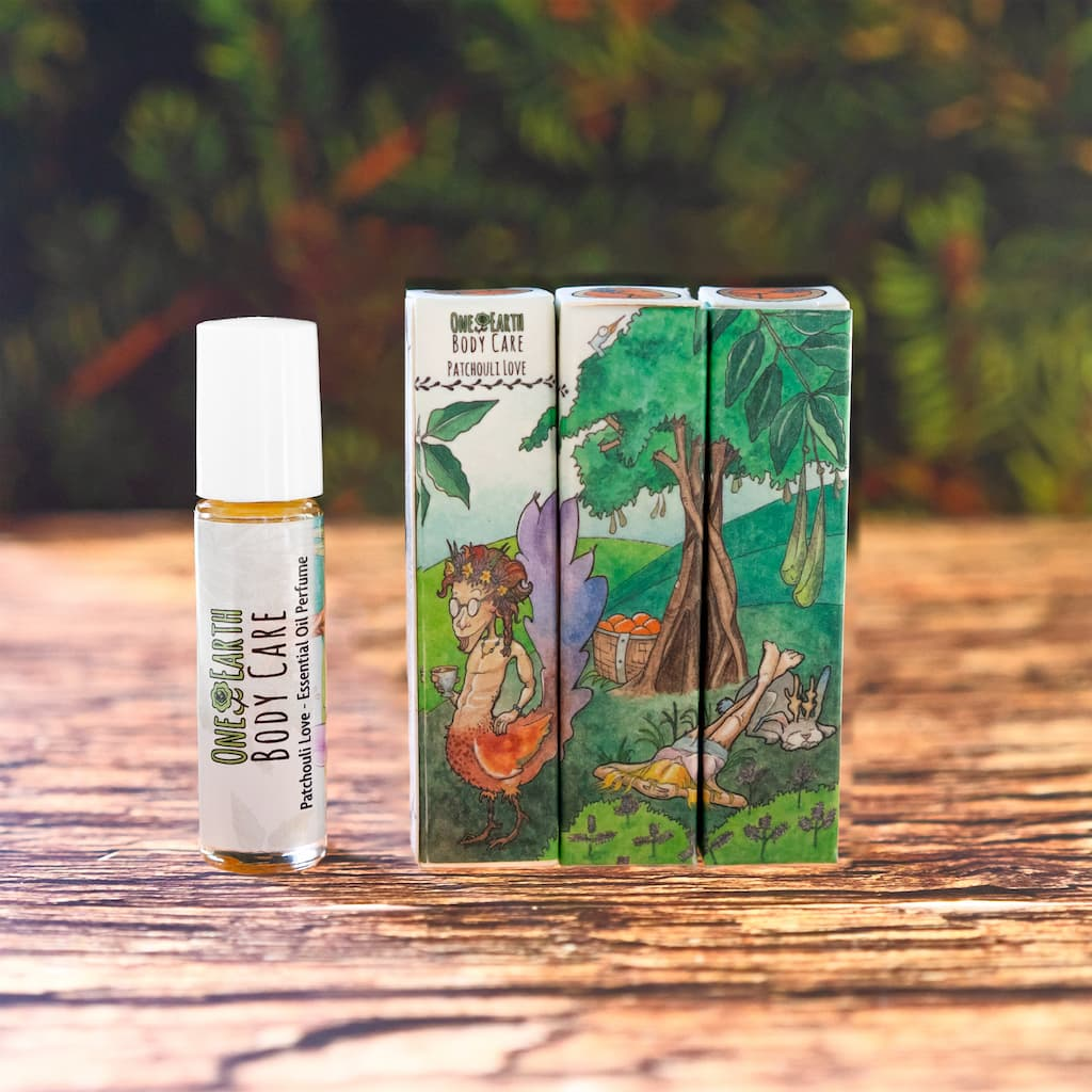 Patchouli Love Essential Oil Perfume from One Earth Body Care