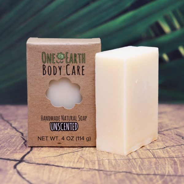 Unscented Handmade Soap Bar from One Earth Body Care