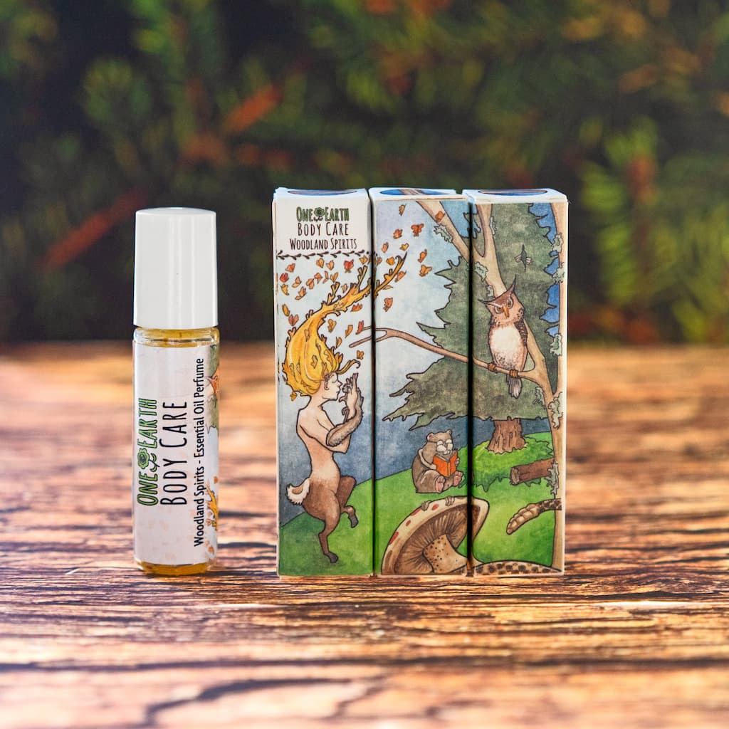Woodland Spirits Essential Oil Perfume by One Earth Body Care