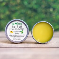 Itch Be Gone Herbal Balm one earth body care